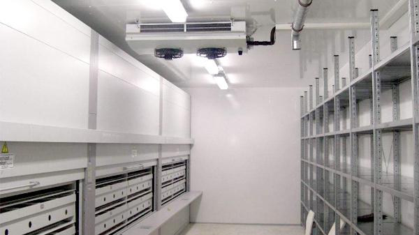 福建水产城冷库安装工程案例